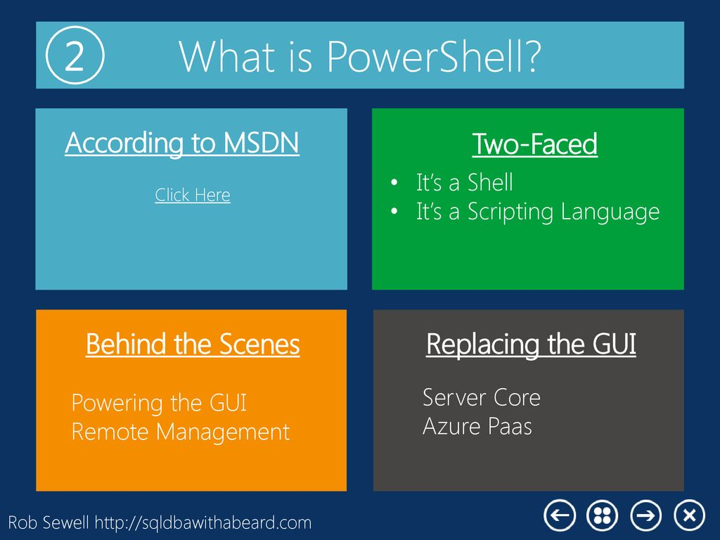 Making PowerShell Useful - ppt download