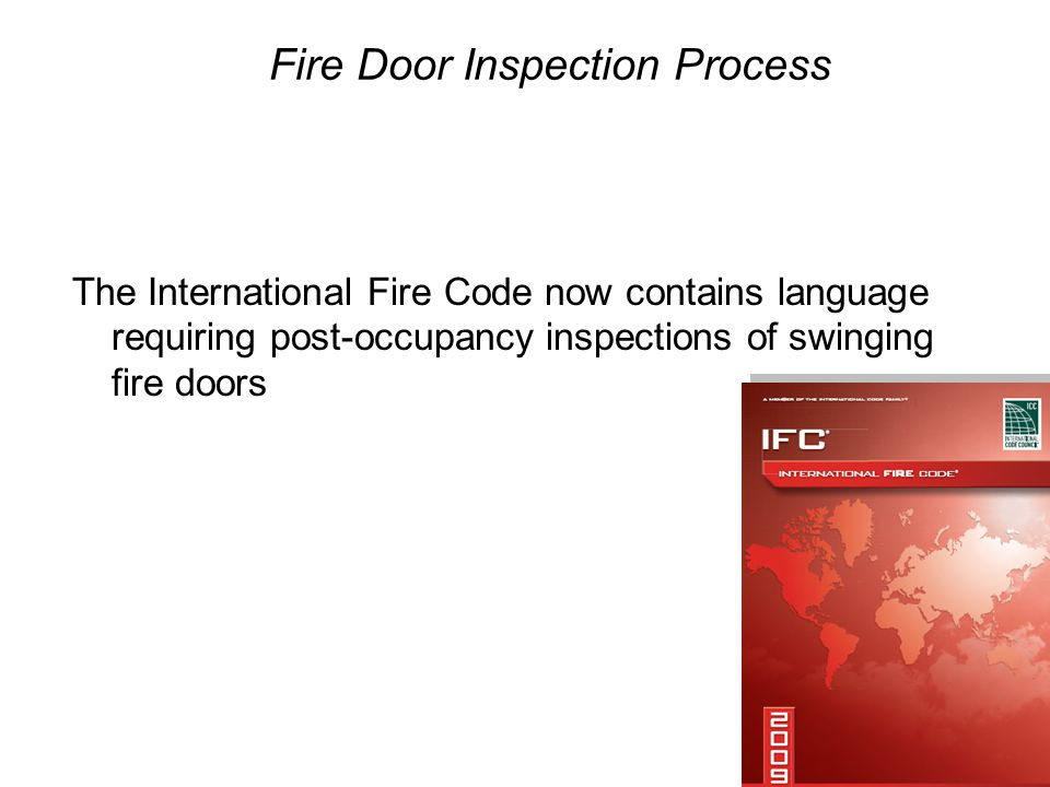 Annual Fire Door Inspection - ppt download