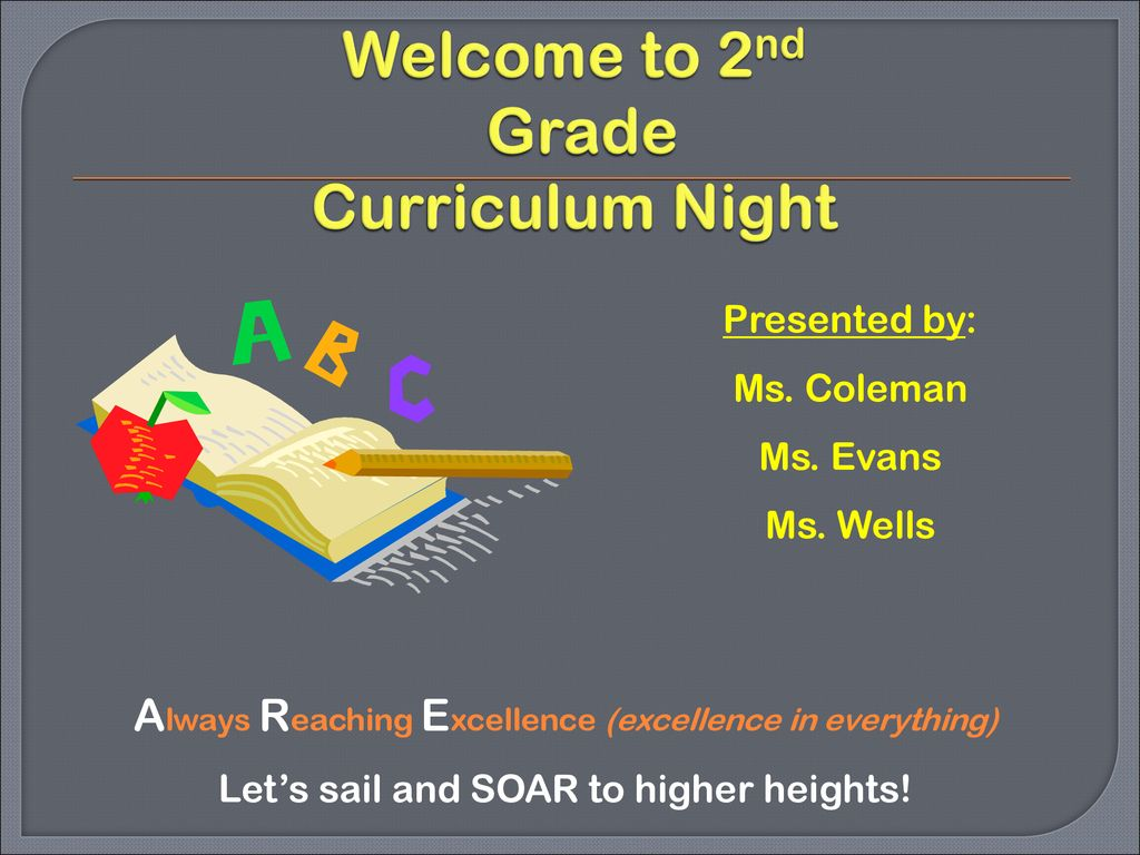 Welcome to 2nd Grade Curriculum Night - ppt download