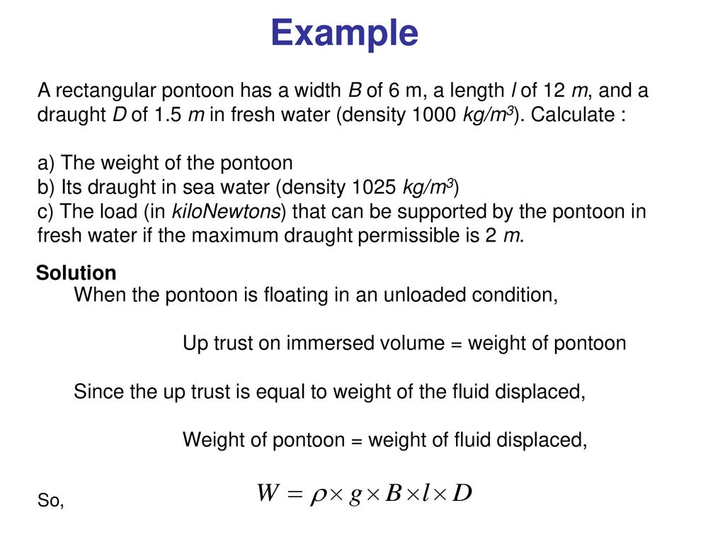 Chapter 4 FLUID STATICS HYDROSTATIC FORCES AND BUOYANCY