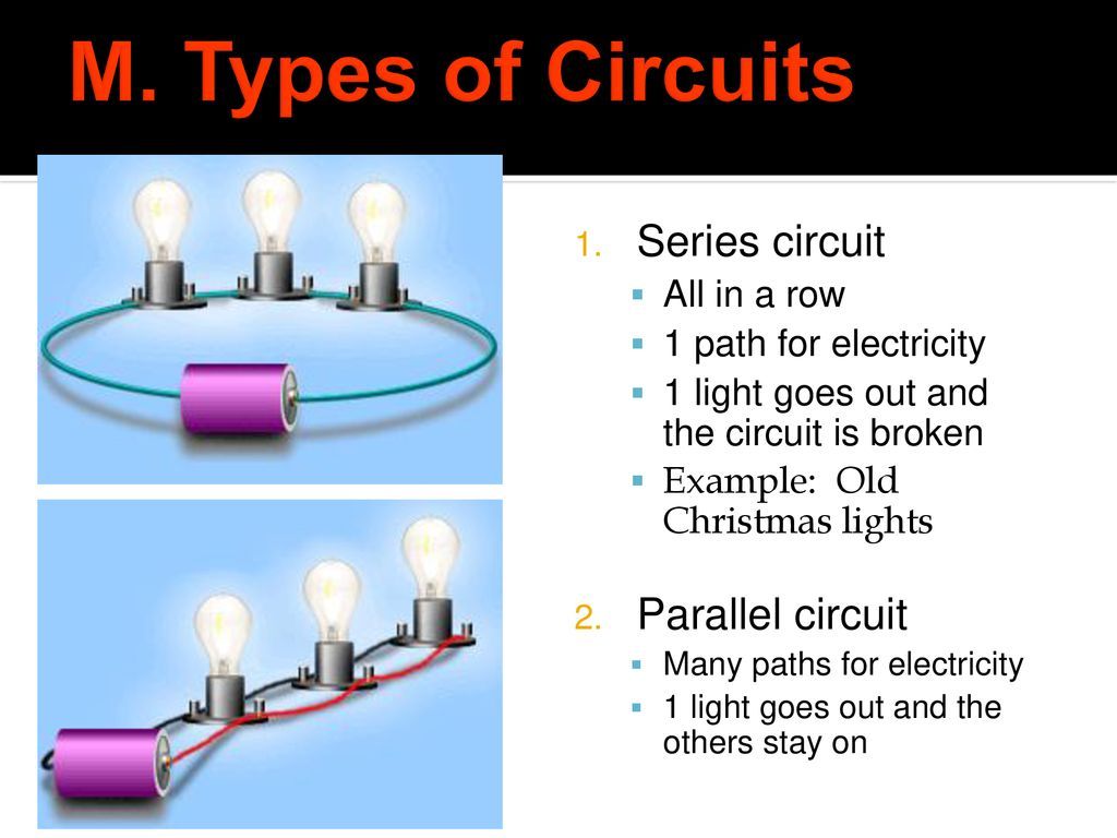 Electricity Exam Review Ppt Download Overview Of Series And Parallel Circuits Types Electrical M Circuit All In A Row
