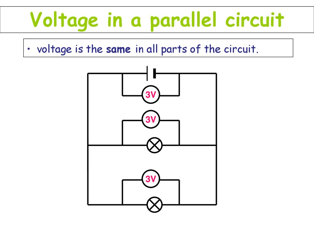 Introduction To Electricity Animatedscience Co Ppt Download Voltage In A Parallel Circuit