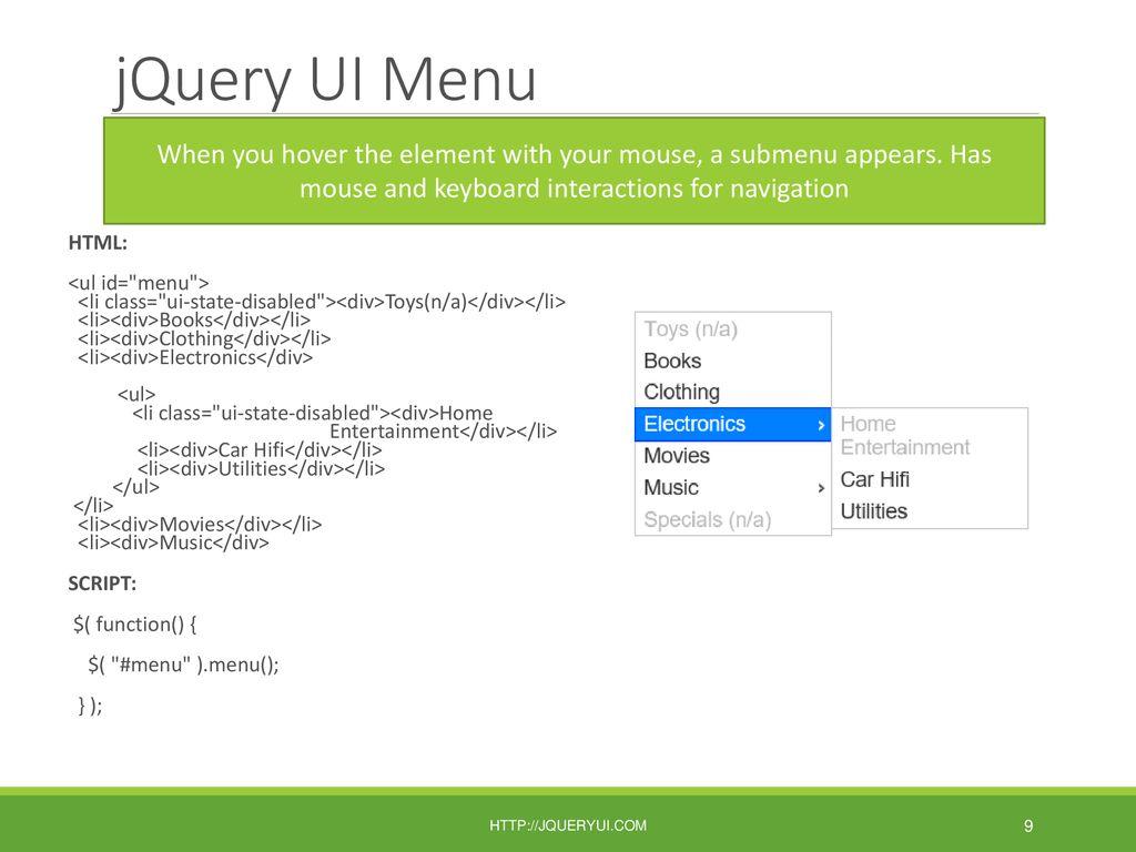 JQuery UI Plug-ins, Object Models \u0026 the Window Object - ppt download