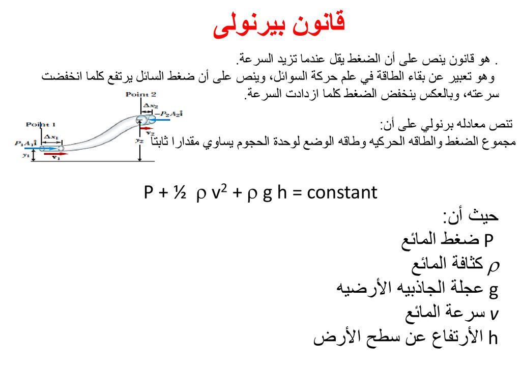 تضحية جرف العادي العلاقة بين الضغط والسرعة Comertinsaat Com