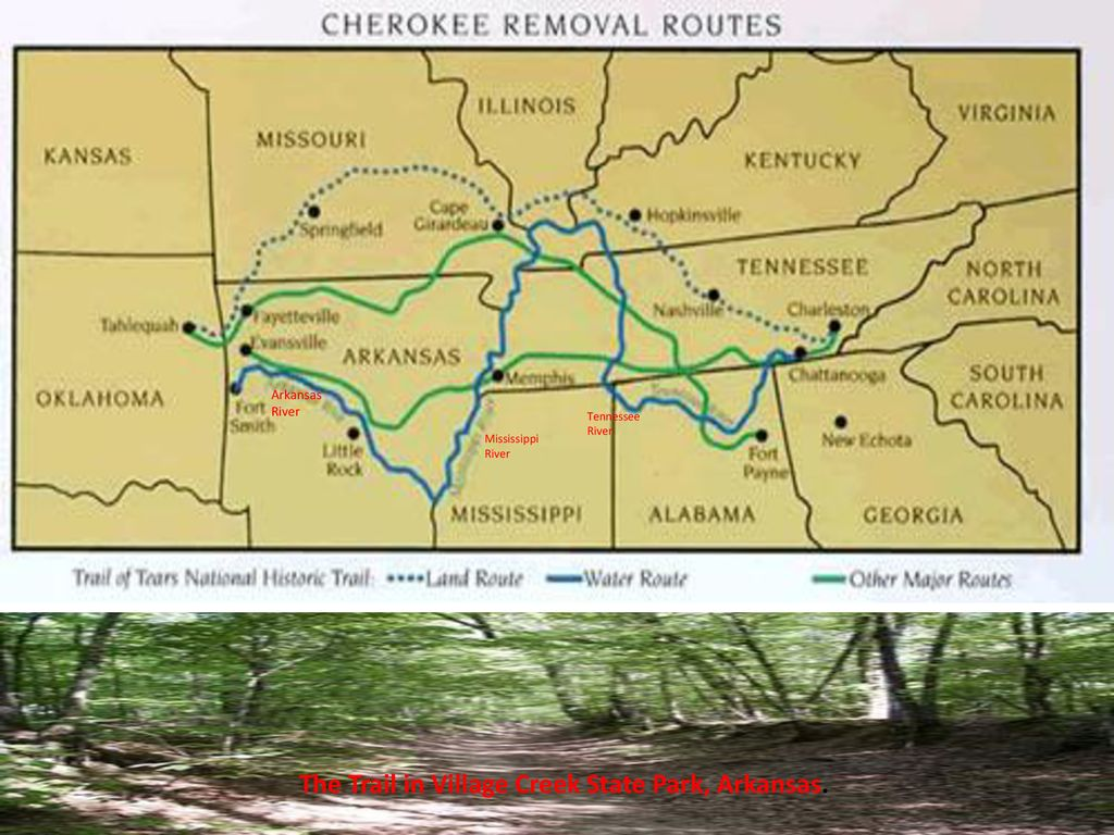 The lessons that lie along the Trail of Tears are more than
