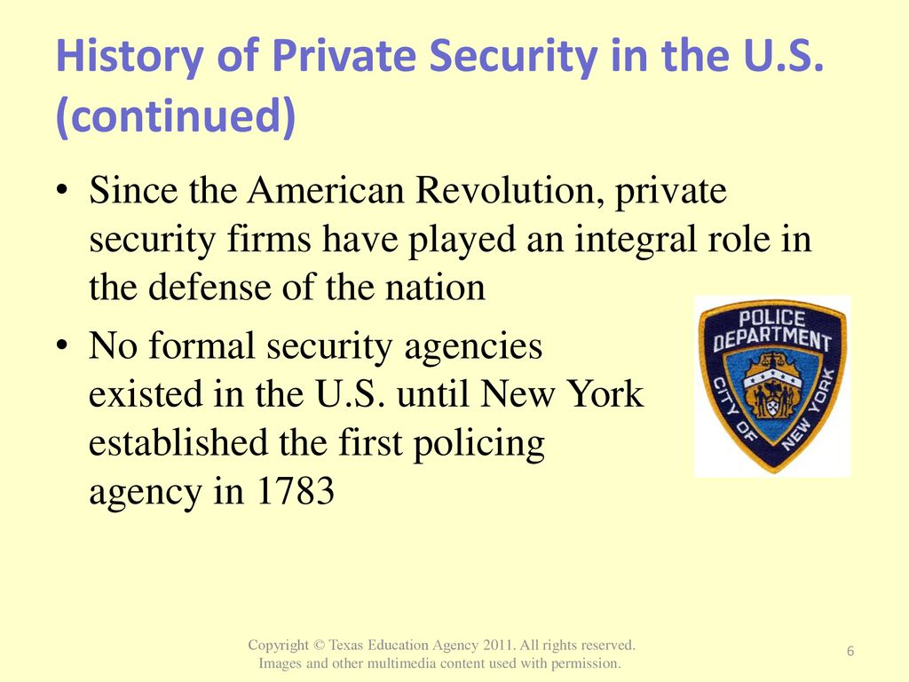 private security industry