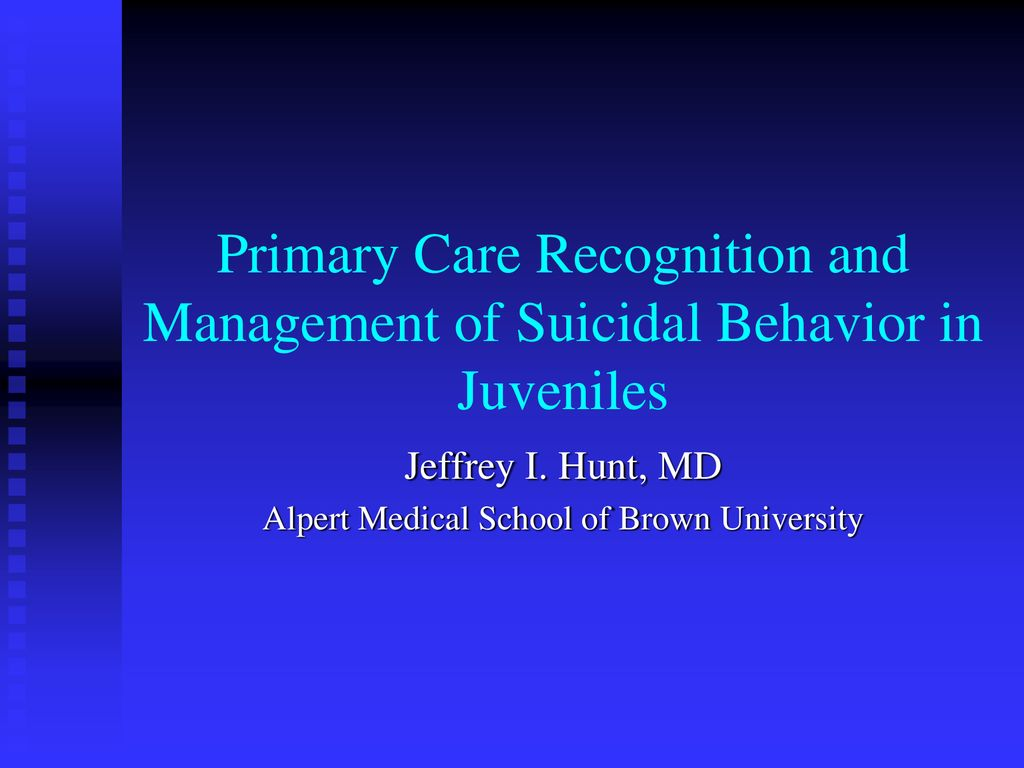 Jeffrey I  Hunt, MD Alpert Medical School of Brown
