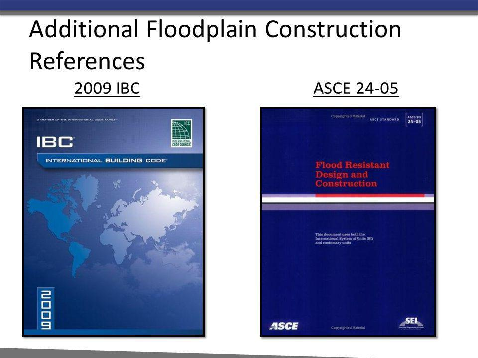 Additional Floodplain Construction References