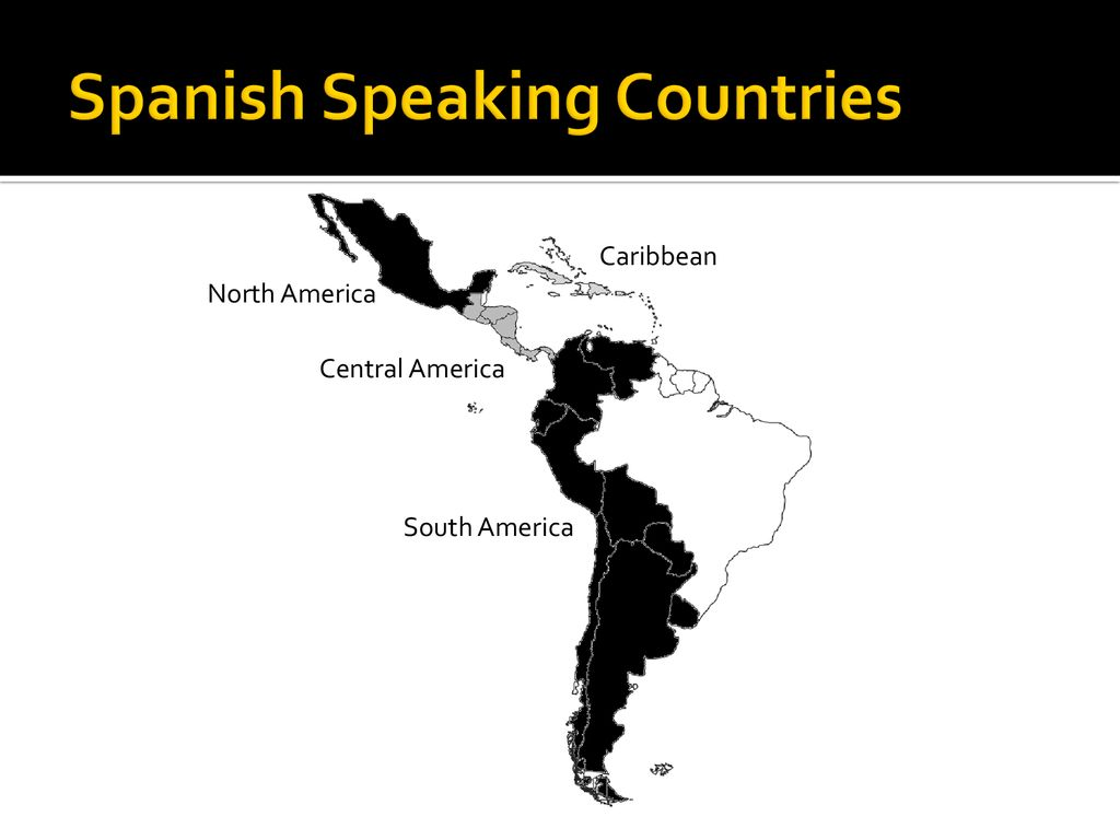 Maps and Capitals of Latin America and Spain - ppt download