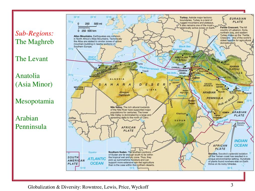 Chapter 7: Southwest Asia & North Africa (Fig. 7.1) - ppt ...