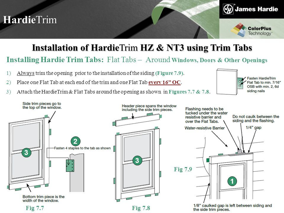 Welcome to hardie 101 basic training ppt download 13 installation thecheapjerseys Images