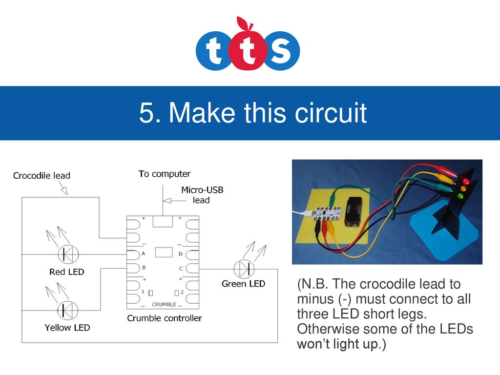 Crumble Powerpoint Ppt Download Three Lead Led Wiring Diagram Make This Circuit Nb