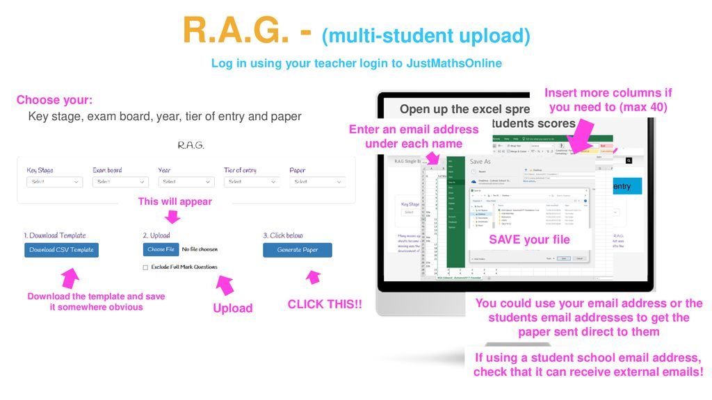 Using the JustMaths R A G  papers - ppt download