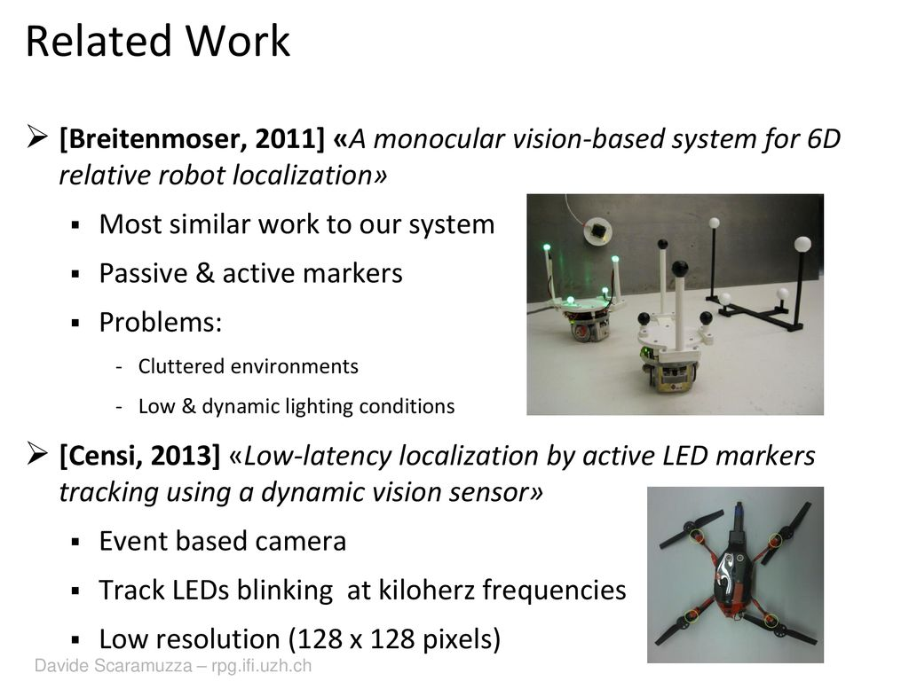 A Monocular Pose Estimation System based on Infrared LEDs