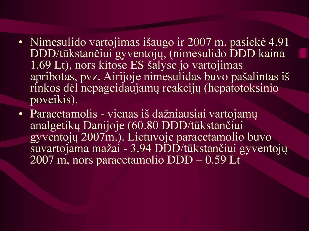 nimesulido hipertenzija)