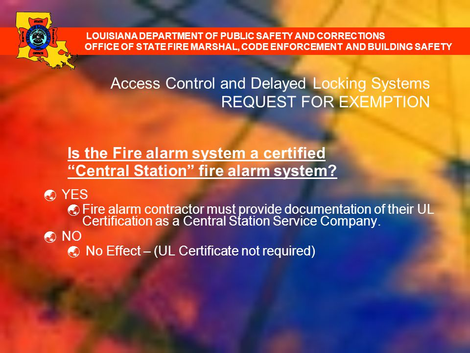 Electronic Locking And Exemption Request Form Training Ppt Download