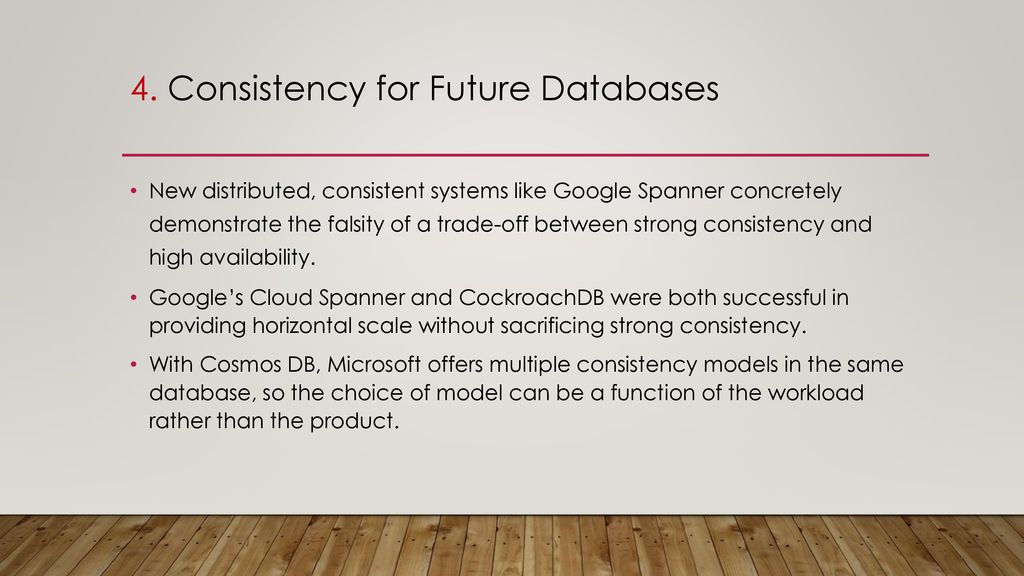 CLIENT-CENTRIC CONSISTENCY MODELS - ppt download