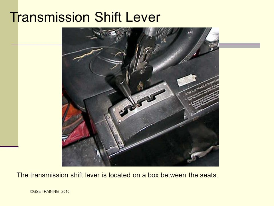 Transmission Shift Lever