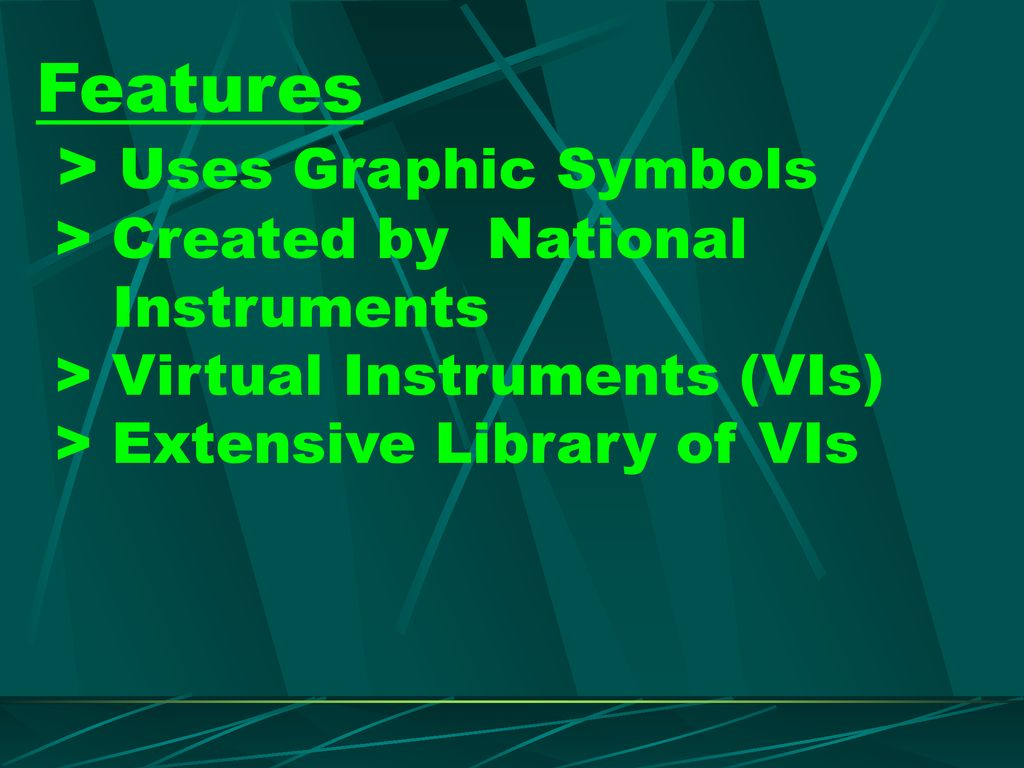 Chapter 1 LabVIEW Basics - ppt download
