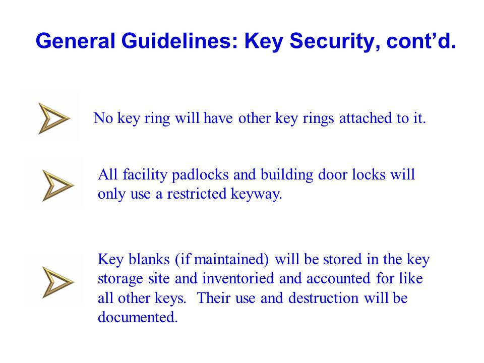 Key and Lock Control, Version 4 - ppt video online download