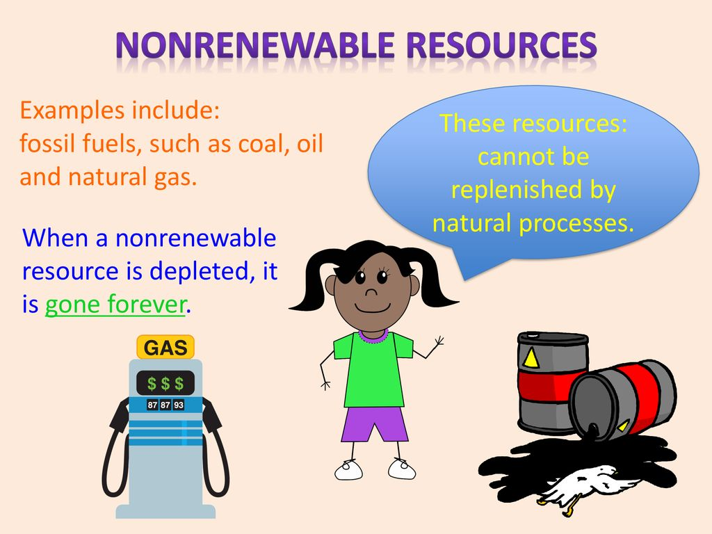 renewable and nonrenewable resources - ppt download