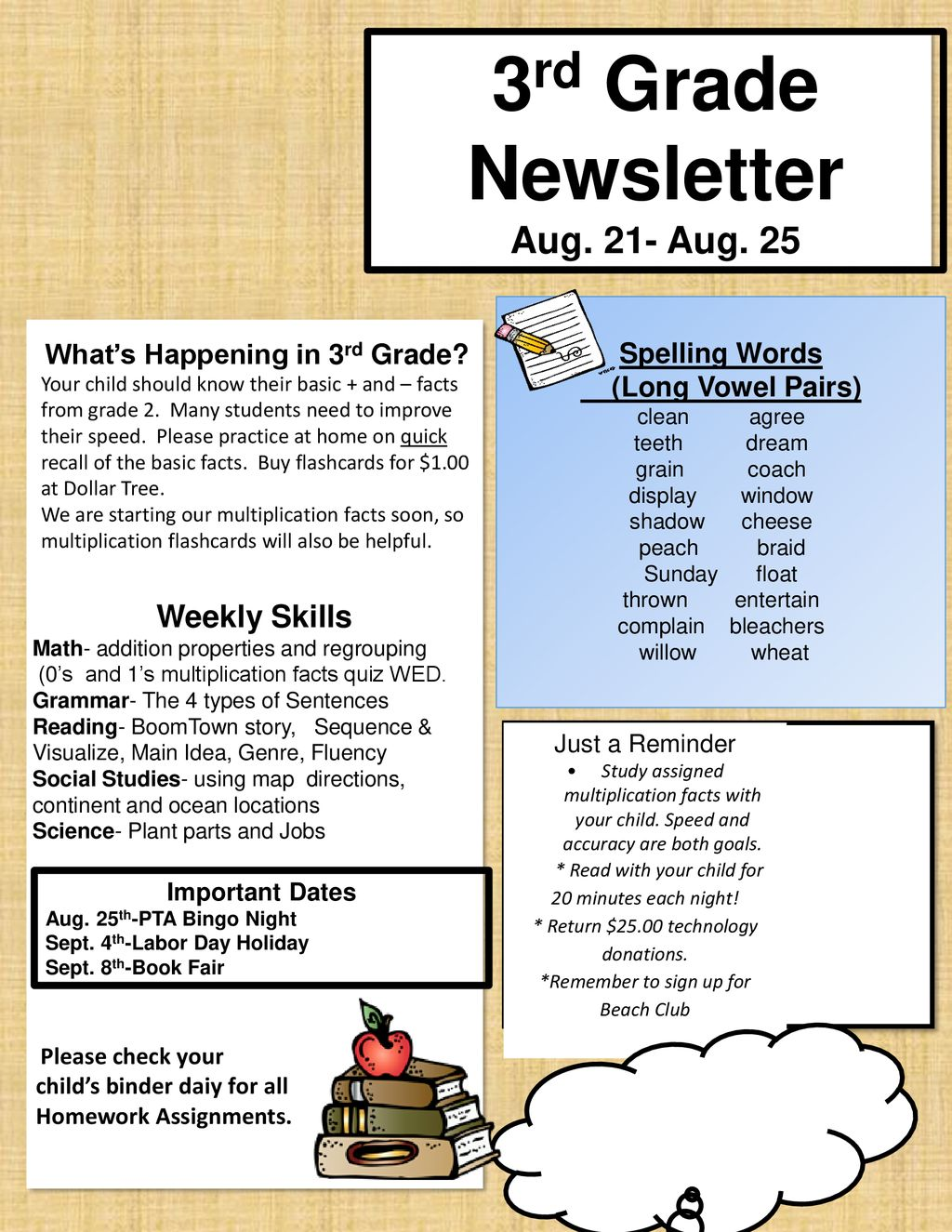 Whats Happening In 3rd Grade Ppt Download
