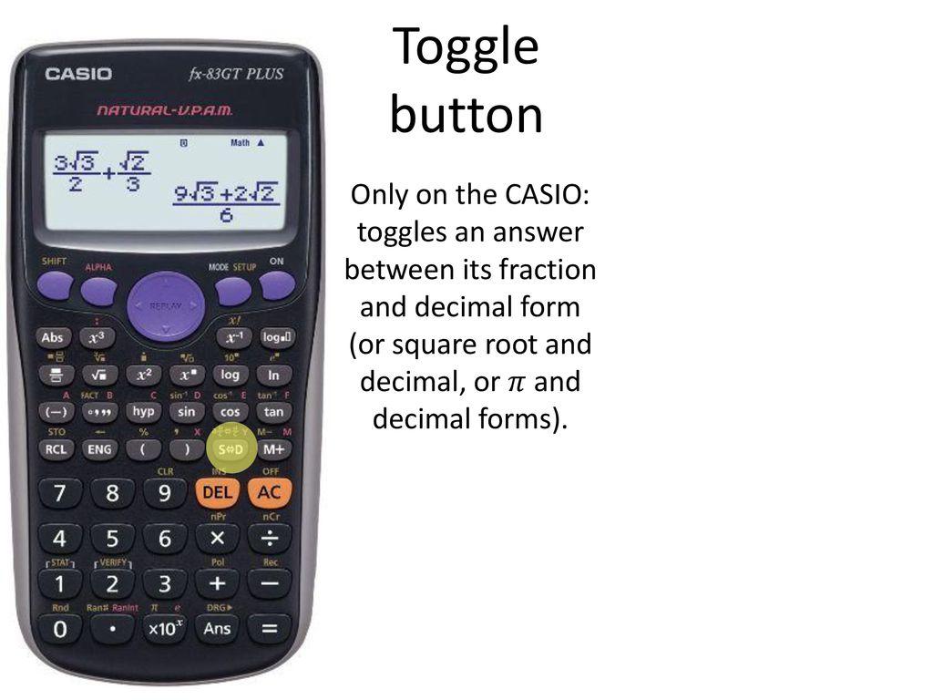Calculator skills  - ppt download