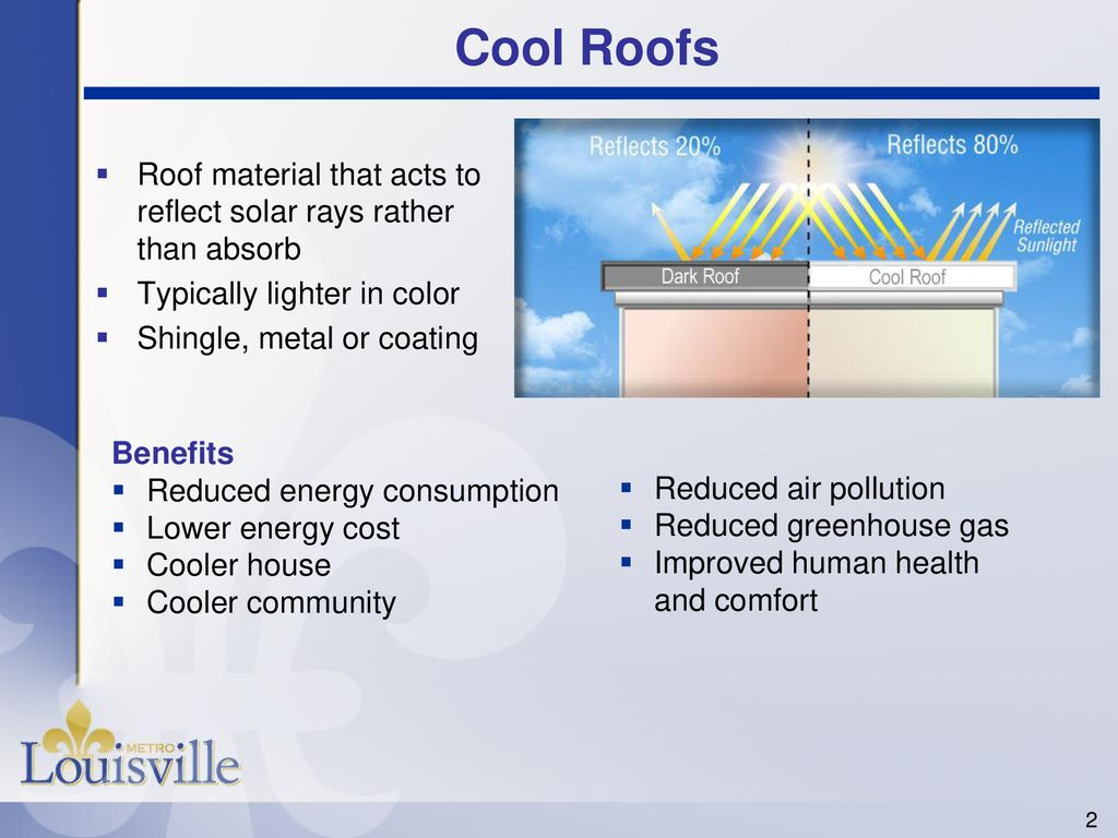 Cool Roof Rebate Program - ppt download