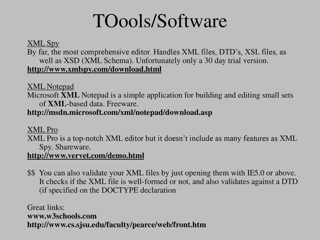 Xml Notepad Best Xml Editor