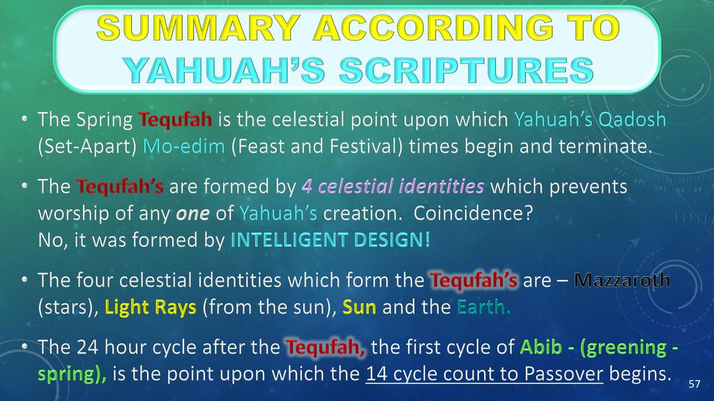 """Tequfah Unveiled (A study on: """"Calendar Year-start"""") - ppt download"""