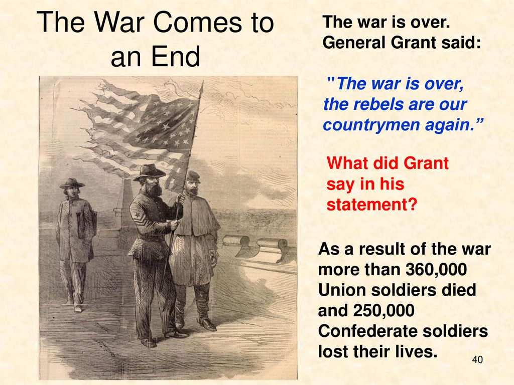 Chapter 22 :The Civil War. - ppt download