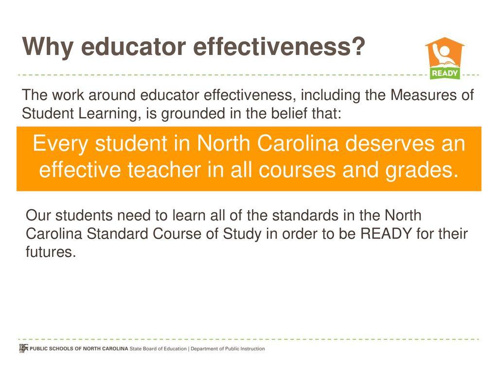 4 Why educator effectiveness?