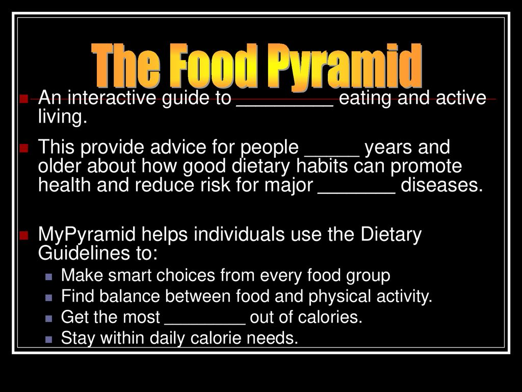 nutrition food pyramid nutrition labels ppt download