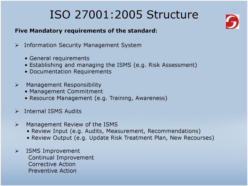 ISO/IEC 27001:2005 A brief introduction Kaushik Majumder - ppt download