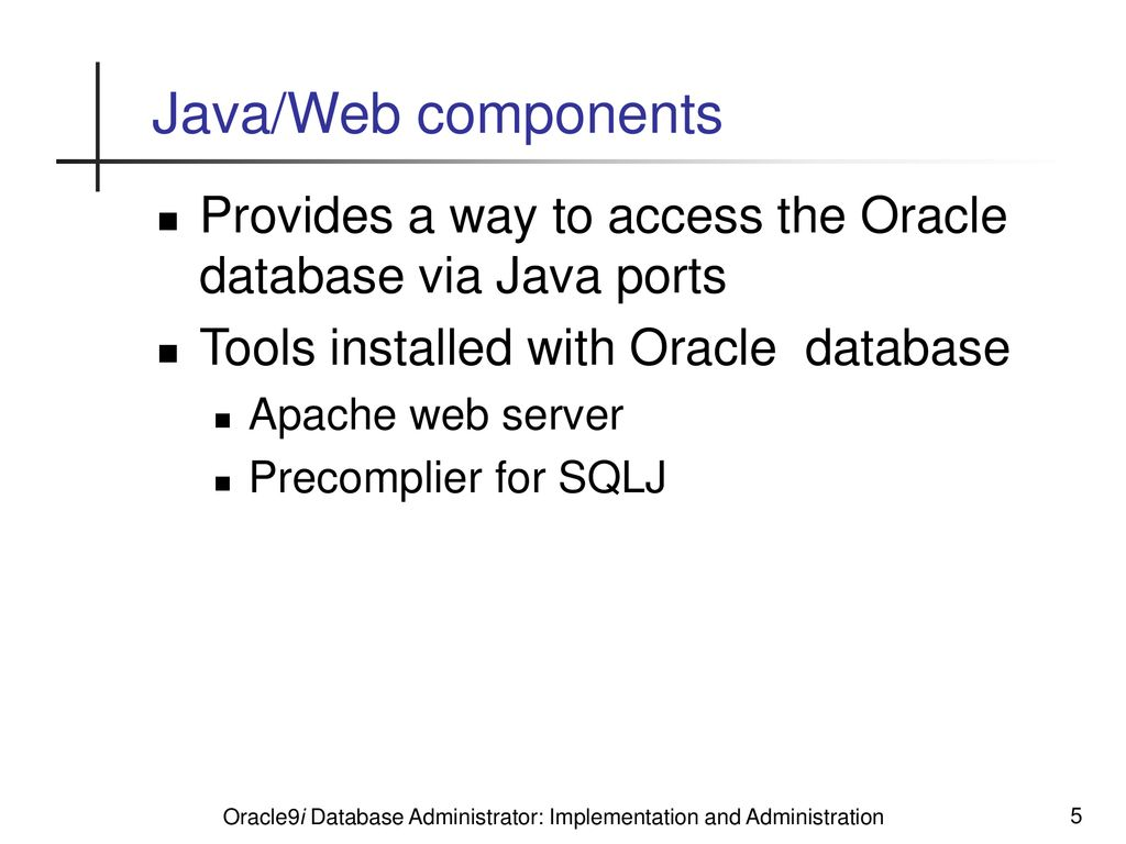 Oracle Architecture Overview - ppt download
