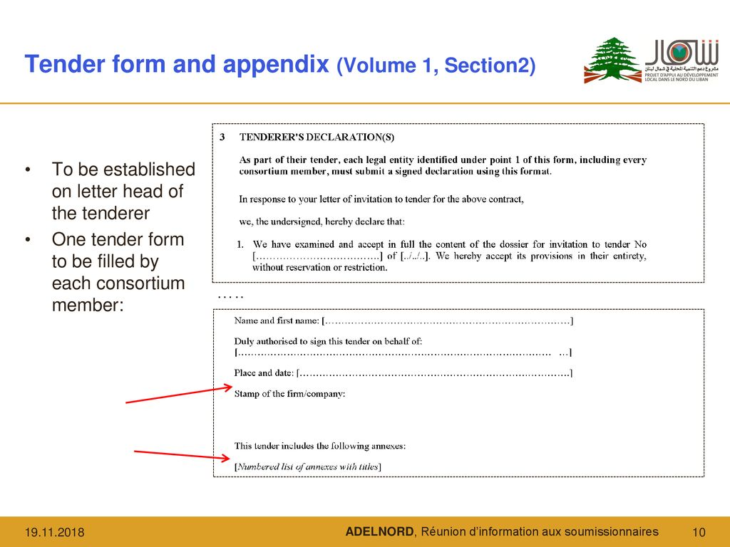 Clarification meeting for tenderers - ppt download
