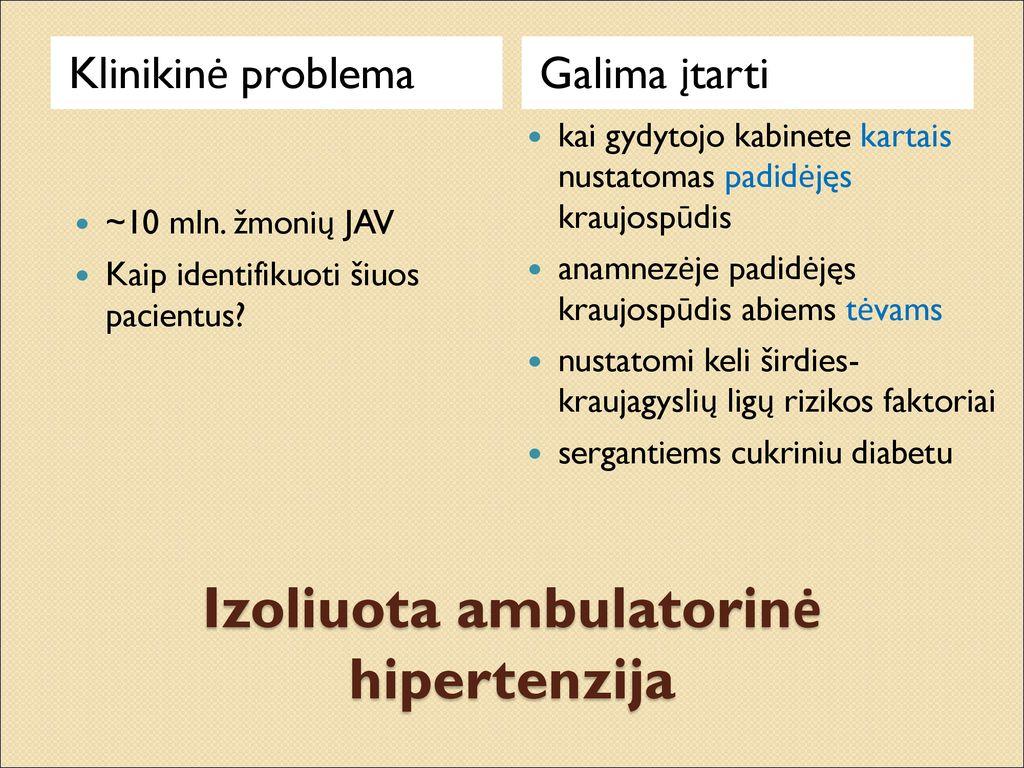 ar būtina sumažinti kraujospūdį sergant hipertenzija hipertenzija hipodinamija