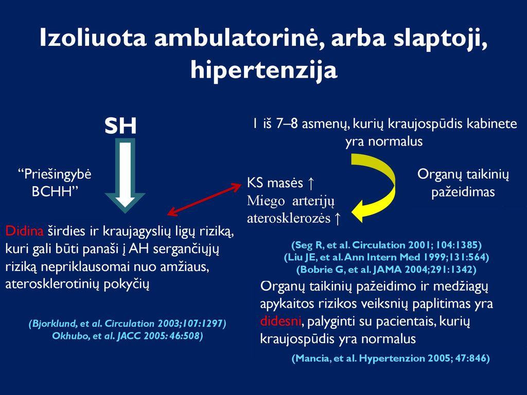 gydymas hipertenzija pastilė