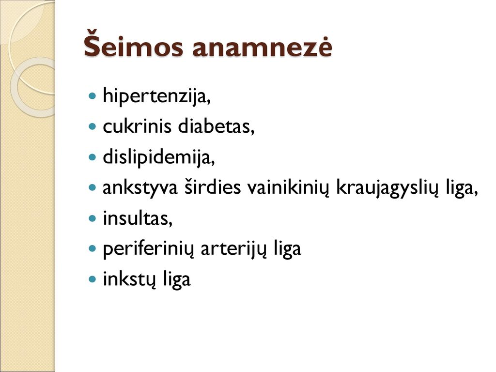 hipertenzijos inkstų analizė)