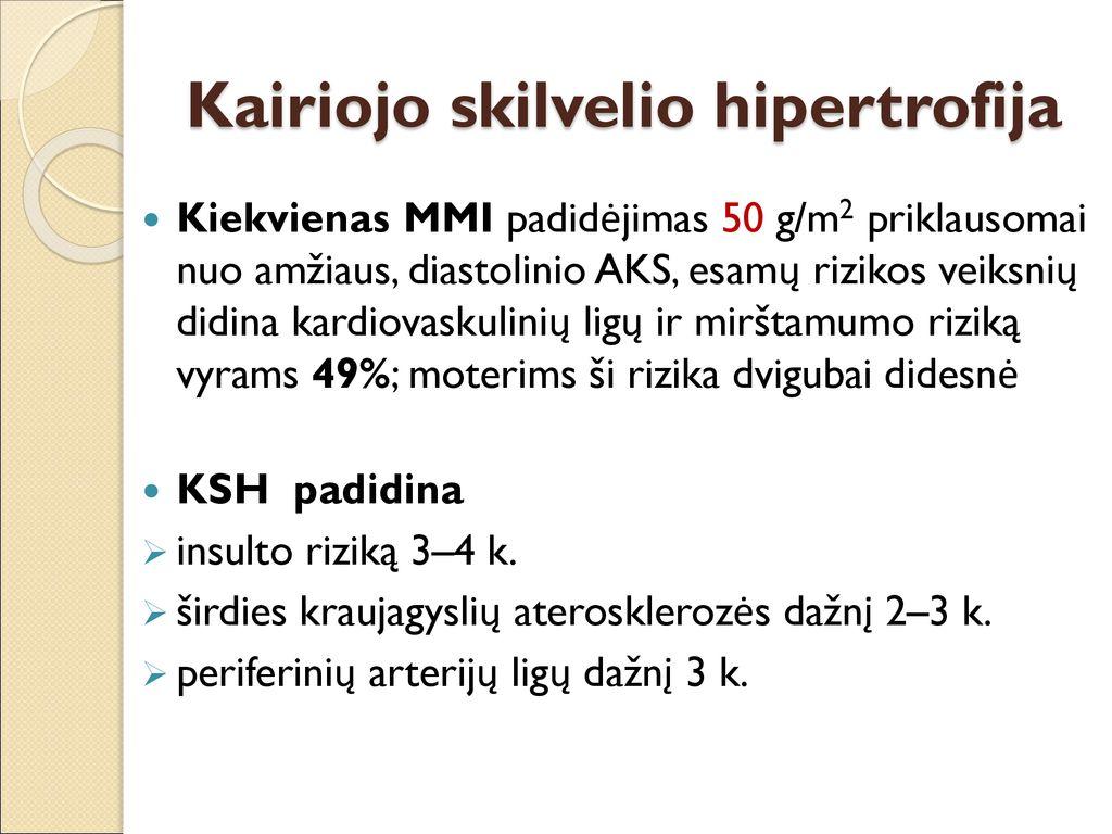 moterų hipertenzijos priežastys po 50)