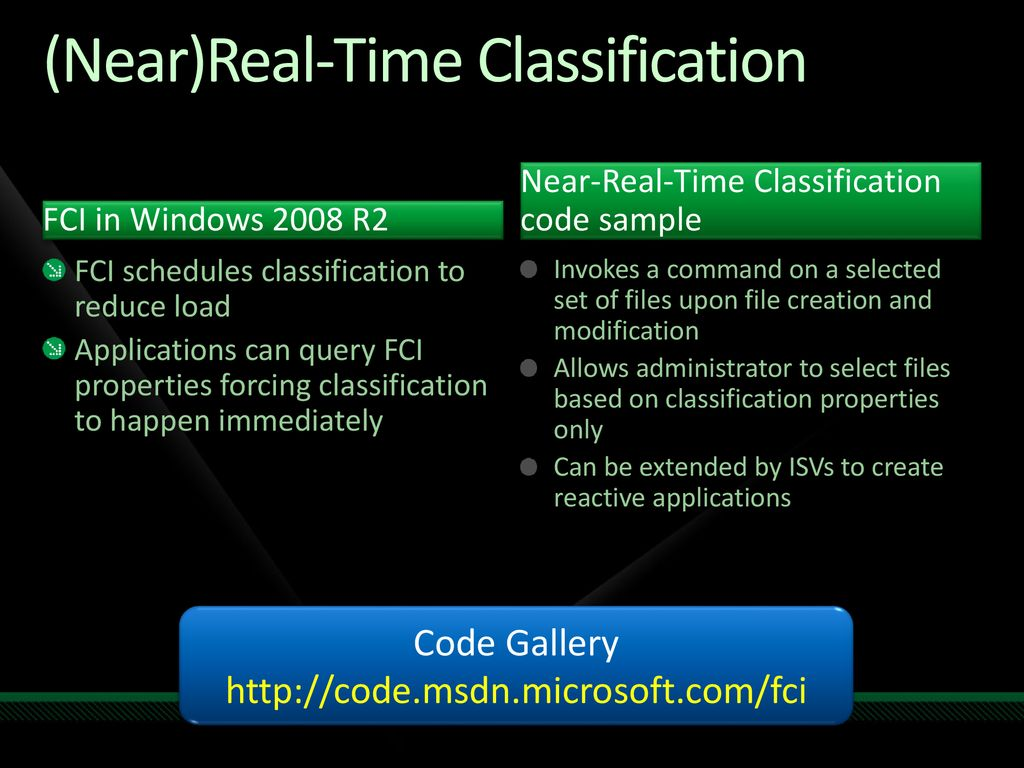 File Classification Infrastructure - ppt download