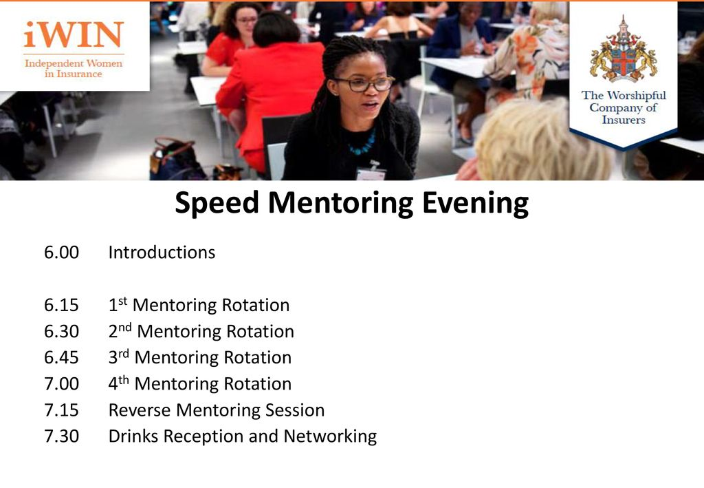 speed mentoring session