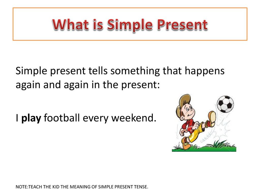 What Is Simple Present