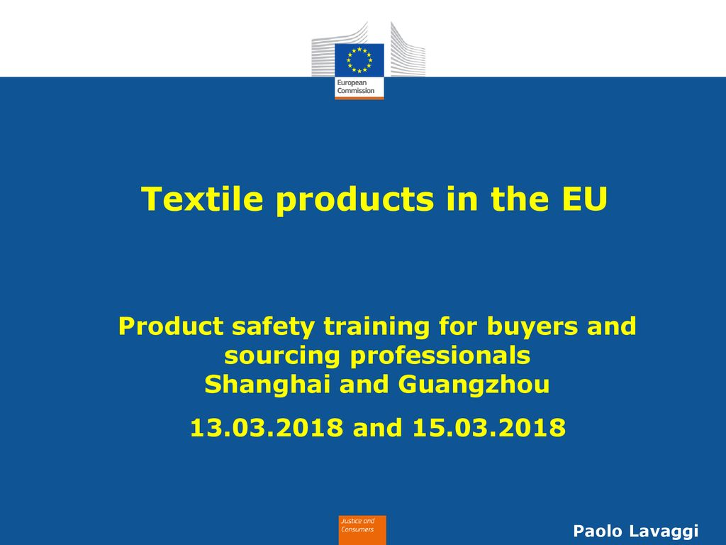 Textile products in the EU - ppt download