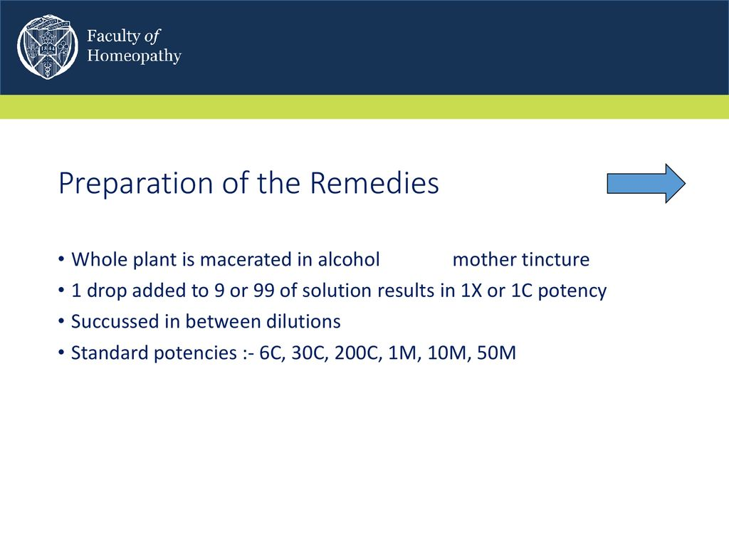 19 Preparation Of The Remedies