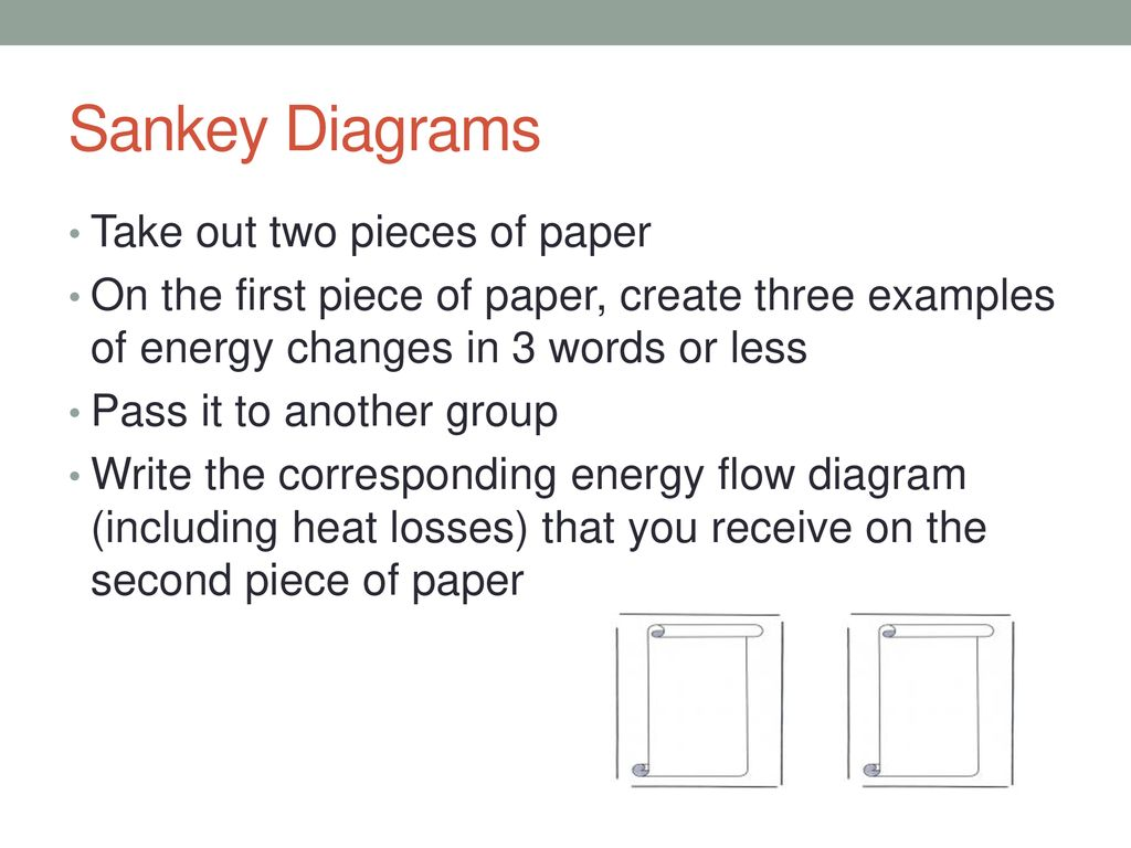 Energy Power Climate Change Ppt Download Heat Radiation Diagram A Energyflow For The Sankey Diagrams Take Out Two Pieces Of Paper