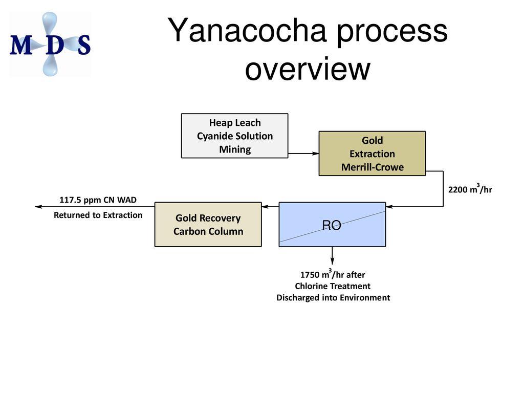yanacocha process overview