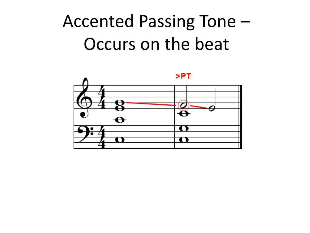 Non Harmonic Non Chord Tones.   ppt download