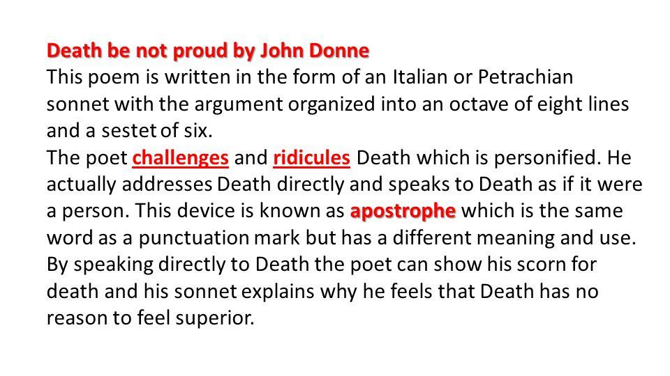 john donne death poem