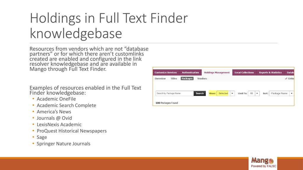 Mango: Features and Functionality - ppt download